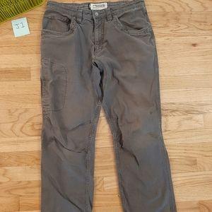 Mountain Khaki Mens 34x30 Pants Gray